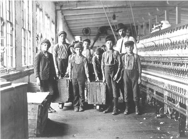 Children workers