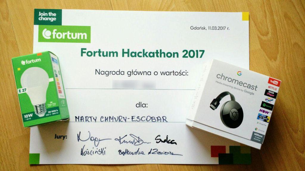 Fortum Hackaton Prizes